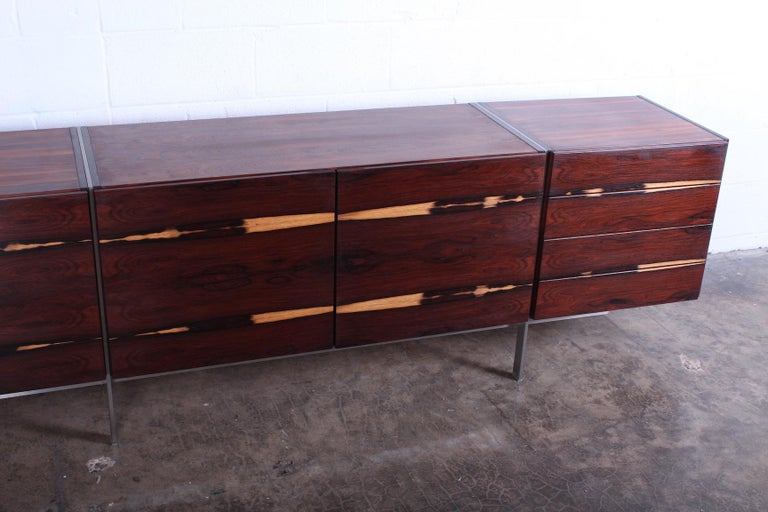 Rosewood Cabinet attributed to Ib Kofod-Larsen For Sale 9
