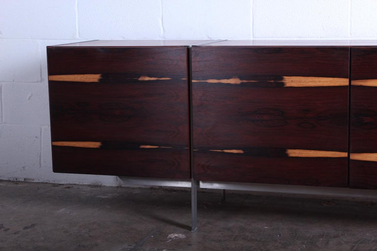 Rosewood Cabinet attributed to Ib Kofod-Larsen In Good Condition For Sale In Dallas, TX