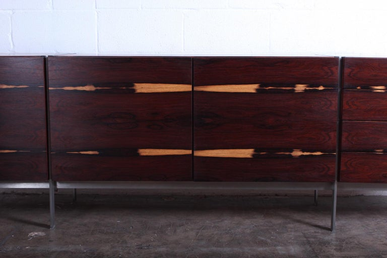 Rosewood Cabinet attributed to Ib Kofod-Larsen For Sale 1