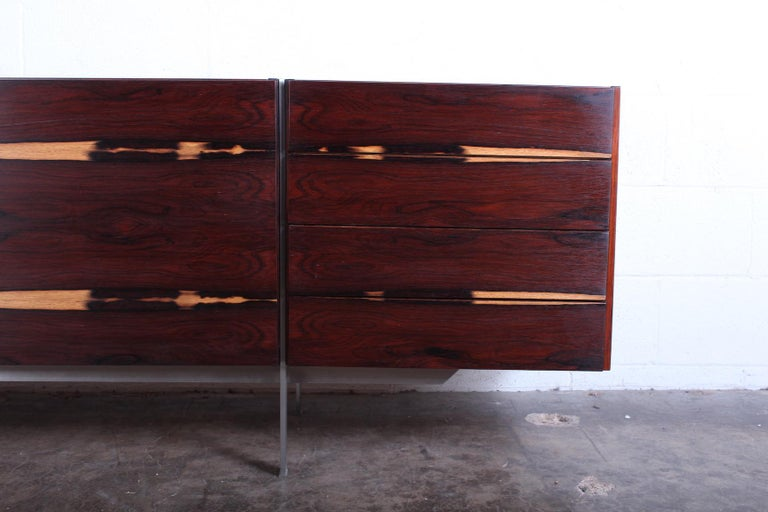 Rosewood Cabinet attributed to Ib Kofod-Larsen For Sale 4