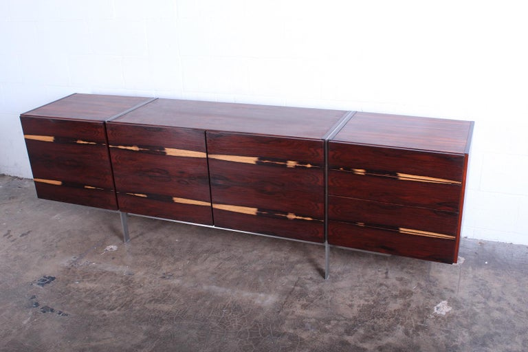 Rosewood Cabinet attributed to Ib Kofod-Larsen For Sale 5