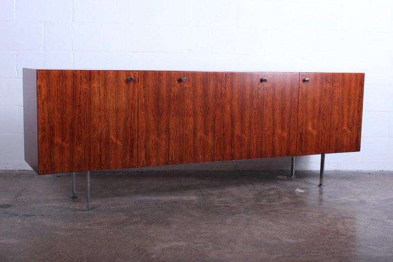 Rosewood Cabinet by Poul Nørreklit for Georg Petersens Møbelfabrik For Sale 6