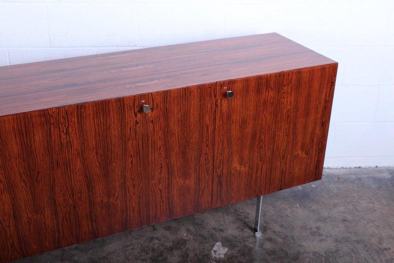 Rosewood Cabinet by Poul Nørreklit for Georg Petersens Møbelfabrik For Sale 8