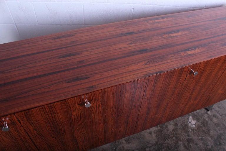 Rosewood Cabinet by Poul Nørreklit for Georg Petersens Møbelfabrik For Sale 9