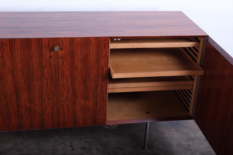 Mid-20th Century Rosewood Cabinet by Poul Nørreklit for Georg Petersens Møbelfabrik For Sale