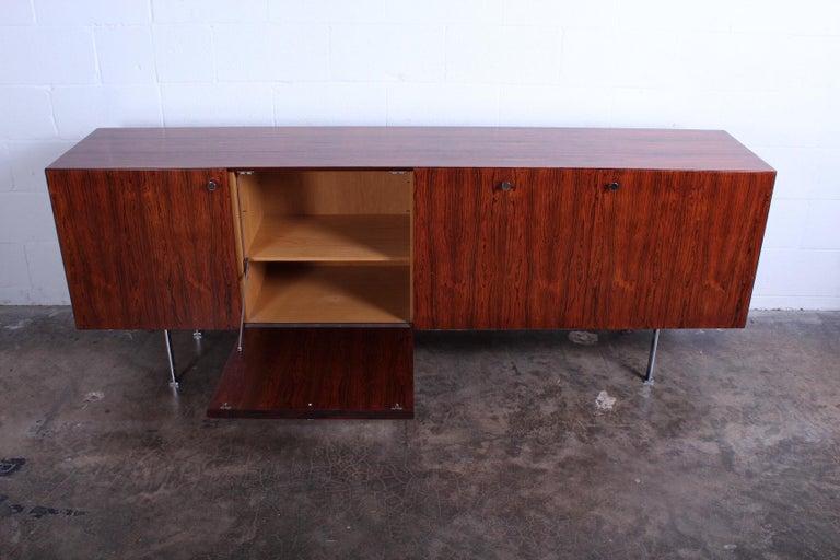Rosewood Cabinet by Poul Nørreklit for Georg Petersens Møbelfabrik For Sale 2