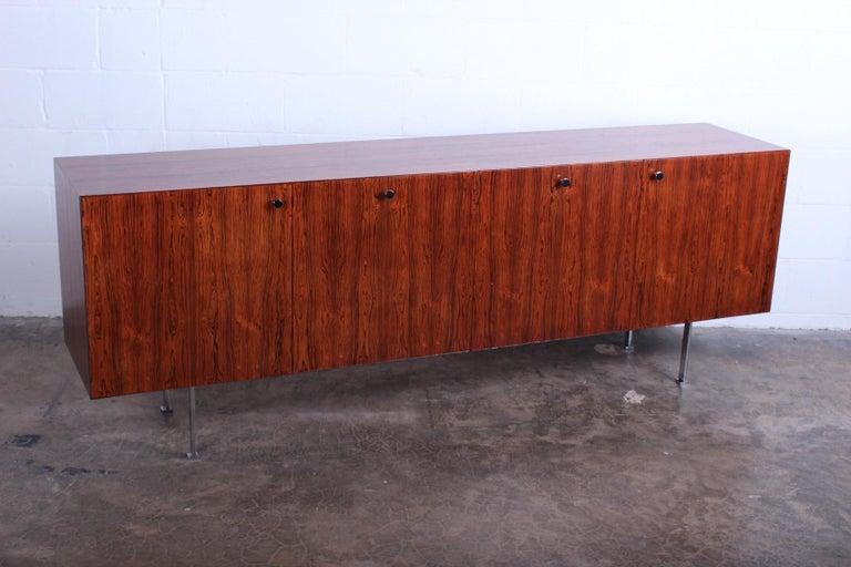 Rosewood Cabinet by Poul Nørreklit for Georg Petersens Møbelfabrik For Sale 5