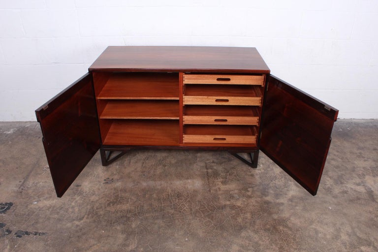 Rosewood Cabinet by Svend Langkilde For Sale 7