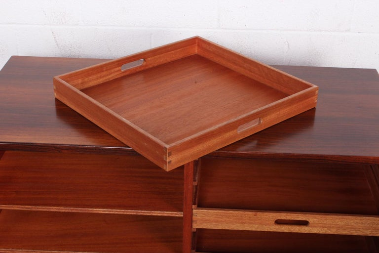 Rosewood Cabinet by Svend Langkilde For Sale 8