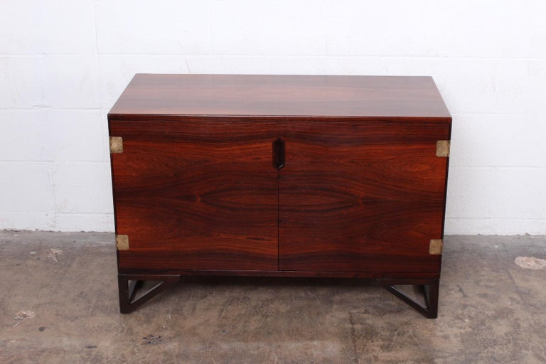 Rosewood Cabinet by Svend Langkilde In Good Condition For Sale In Dallas, TX