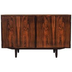 Rosewood Cabinet, Danish Design, 1970s, Manufacturer Omann Jun