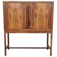 Rosewood Cabinet or Dry Bar by Torbjørn Afdal for Mellemstrands Møbelfabrik, 60s