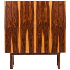 Rosewood Cabinet Wardrobe, 1970s