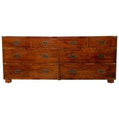 Rosewood Campaign Chest by John Stuart of New York, circa 1950s