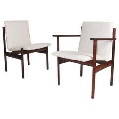 Rosewood Chairs by Sven Ivar Dysthe for Dokka Møbler, set of 4