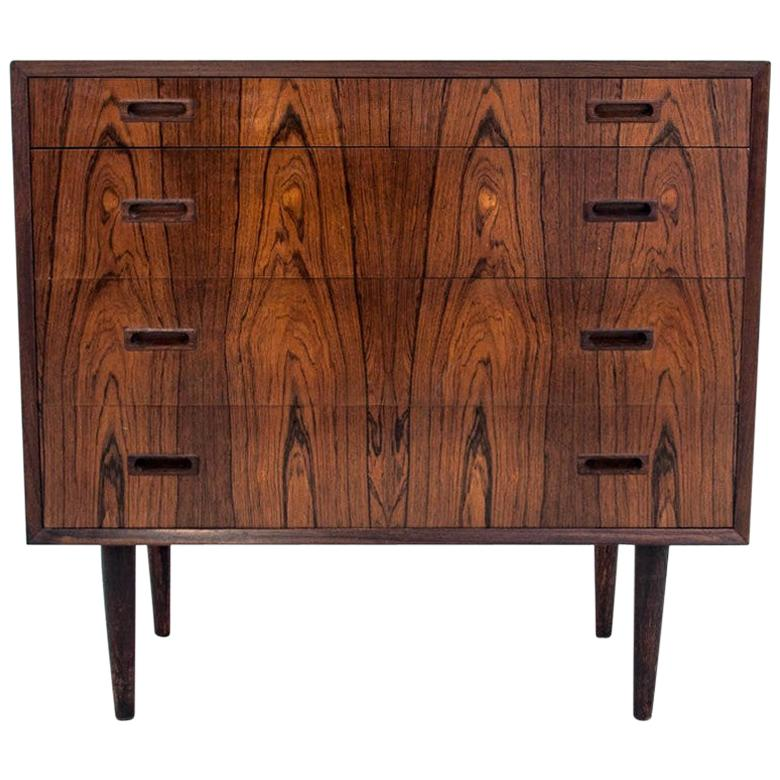 Rosewood Chest of Drawers, Danish Design, 1960s
