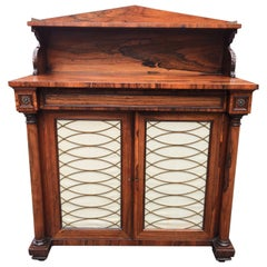 Rosewood Chiffonier, English, circa 1830