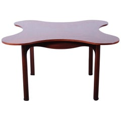 Rosewood Clover Table by Edward Wormley for Dunbar
