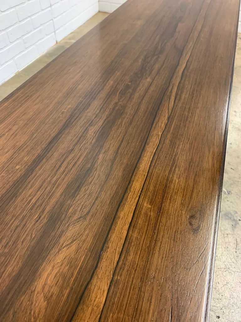 Rosewood Coffee Table or Bench by Paul Frankl For Sale 3