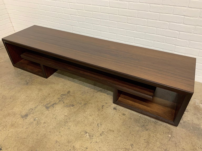 Rosewood Coffee Table or Bench by Paul Frankl For Sale 4