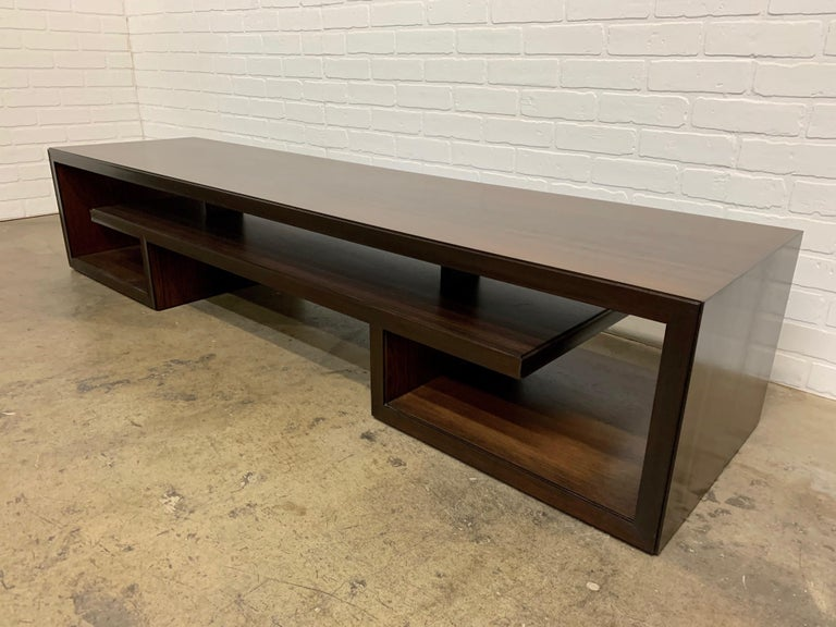 Rosewood Coffee Table or Bench by Paul Frankl For Sale 5