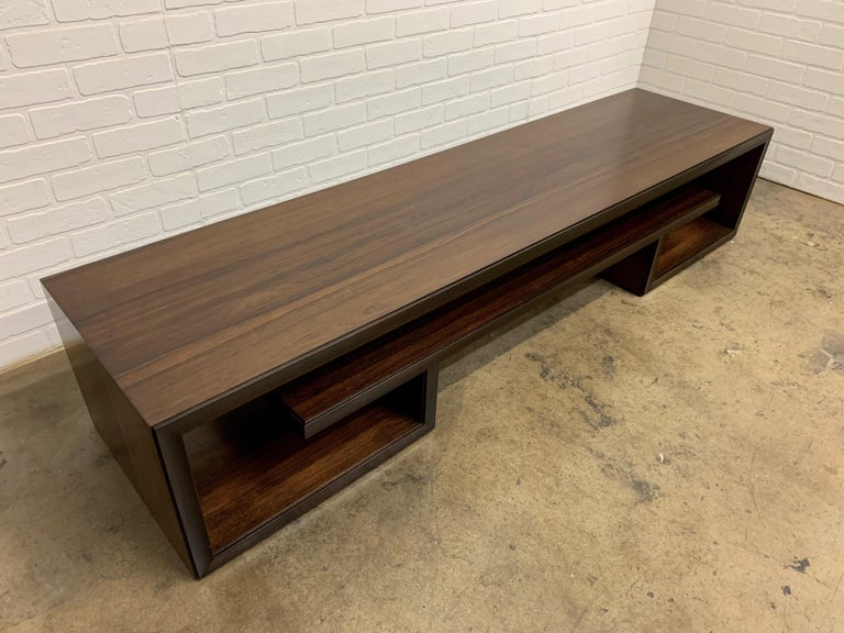 Rosewood Coffee Table or Bench by Paul Frankl For Sale 8