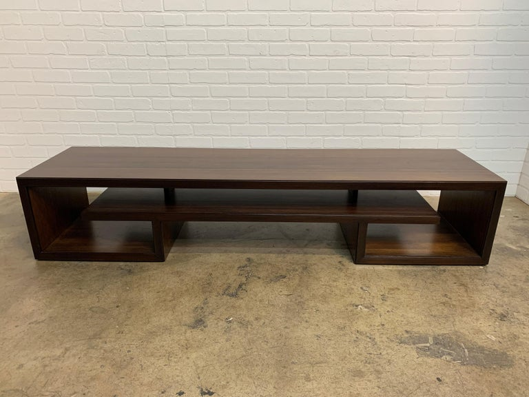 Rosewood Coffee Table or Bench by Paul Frankl For Sale 9