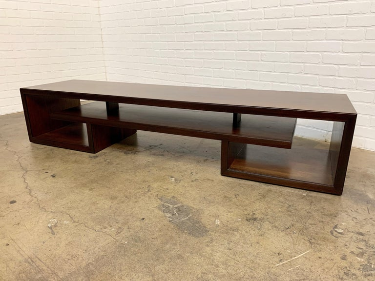 Rosewood Coffee Table or Bench by Paul Frankl For Sale 10