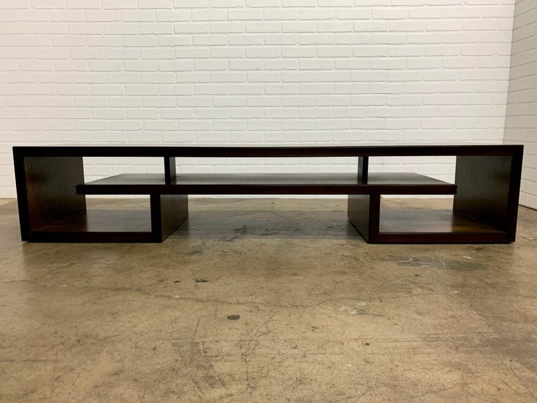 Mahogany Rosewood Coffee Table or Bench by Paul Frankl For Sale