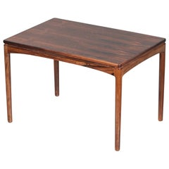 Rosewood Coffee Table by Edmund Jorgensen 1960s Scandinavian Design