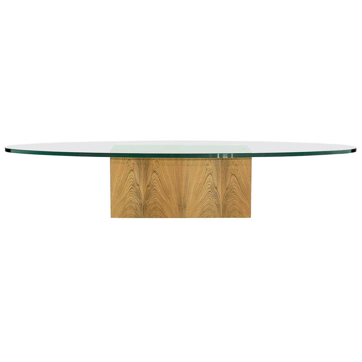 Rosewood Coffee Table by Harvey Probber, 1950s