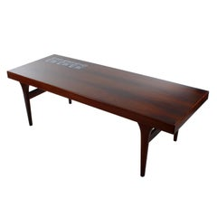 Rosewood Coffee Table by Johannes Andersen for CFC Silkeborg in the 1960s