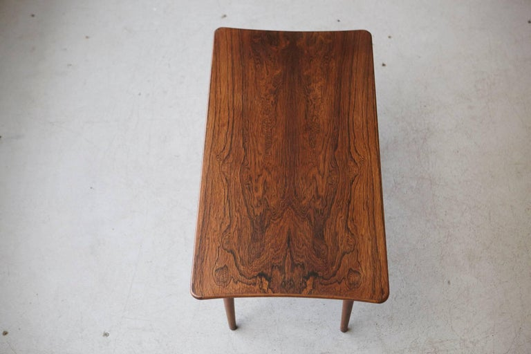 Mid-20th Century Rosewood Coffee Table by Kurt Østervig for Jason Møbler, 1960s For Sale