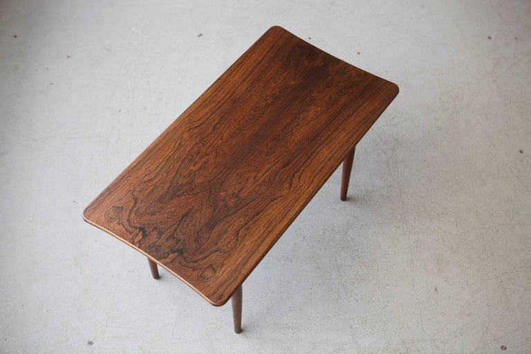 Rosewood Coffee Table by Kurt Østervig for Jason Møbler, 1960s For Sale 1