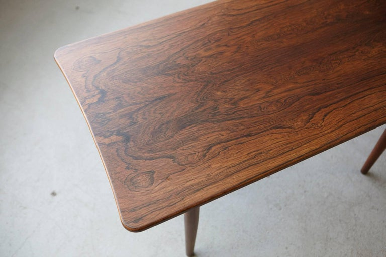 Rosewood Coffee Table by Kurt Østervig for Jason Møbler, 1960s For Sale 2