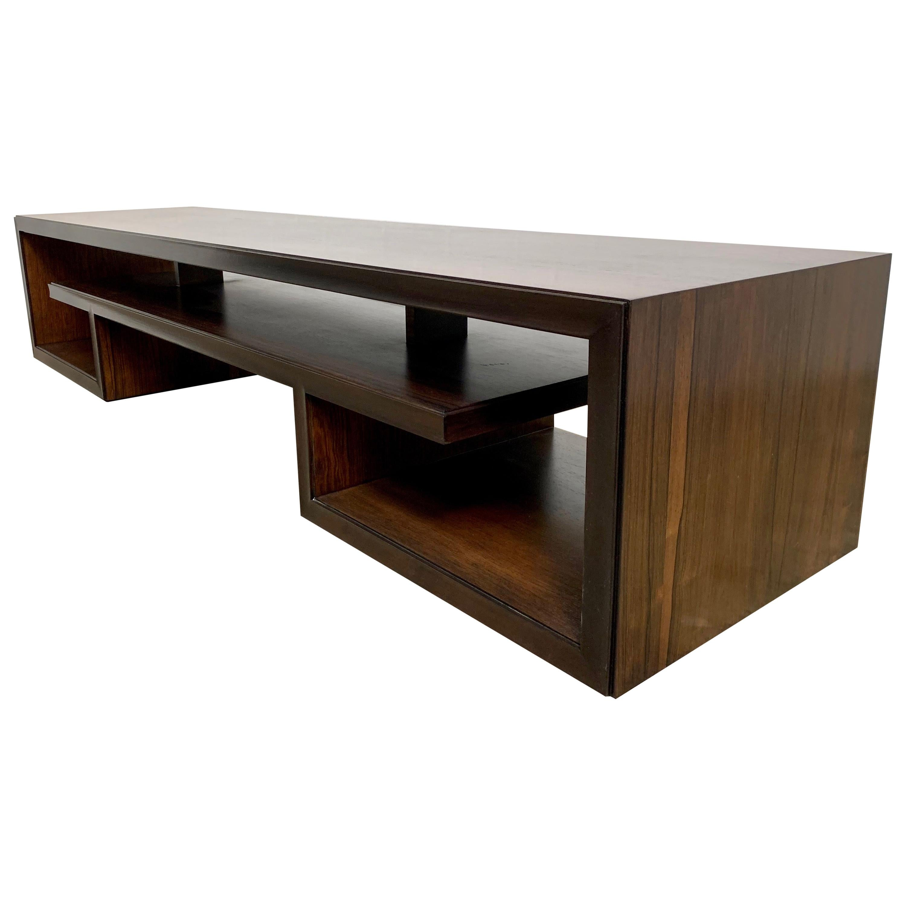 Rosewood Coffee Table or Bench by Paul Frankl