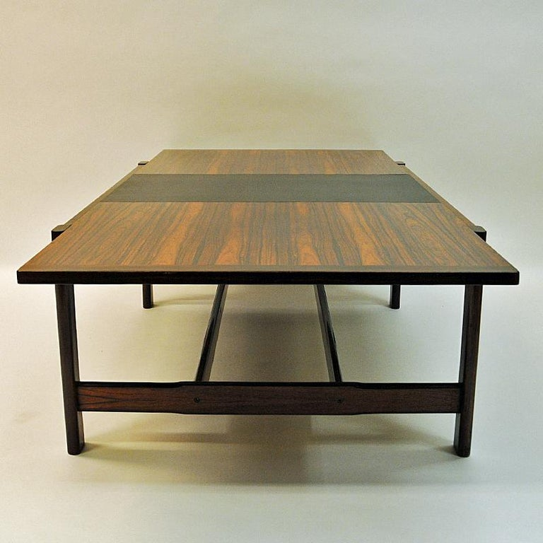Rosewood Coffee Table Sari by Torbjørn Afdal for Bruksbo, Norway, 1962 In Good Condition For Sale In Stockholm, SE