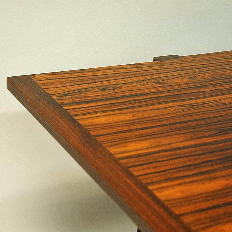Mid-20th Century Rosewood Coffee Table Sari by Torbjørn Afdal for Bruksbo, Norway, 1962 For Sale