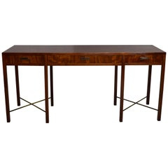 Rosewood Console Table, circa 1960