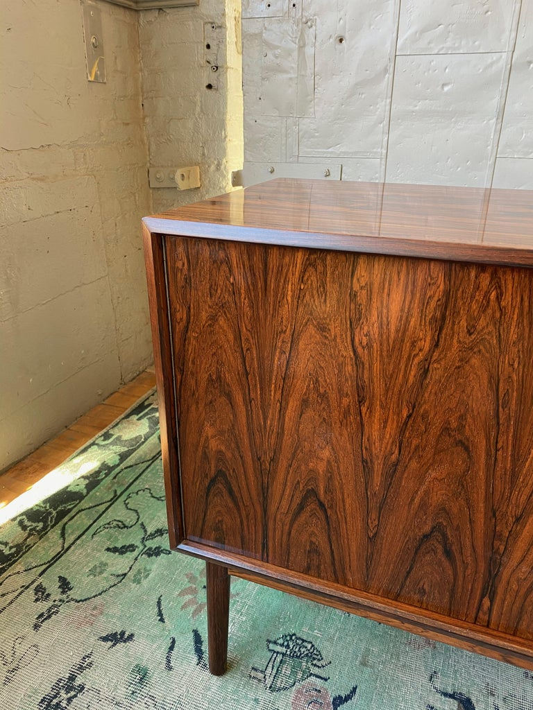 Mid-Century Modern Rosewood Credenza by Maurice Villency