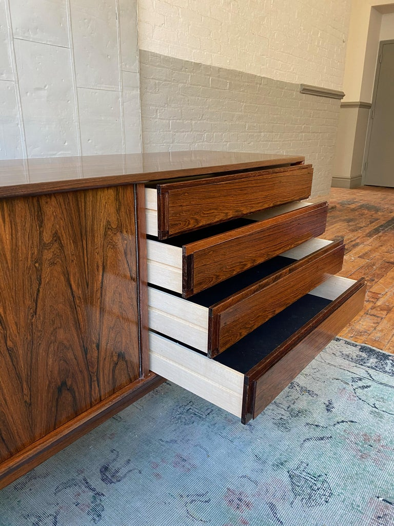 Late 20th Century Rosewood Credenza by Maurice Villency
