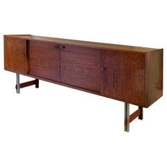 Wooden Cupboard Mid-Century Style Italian Manufacture, 1960s
