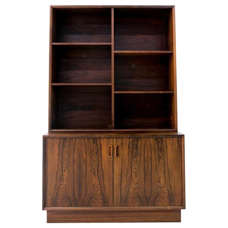 Rosewood Danish Bookcase