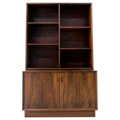 Rosewood Danish Bookcase