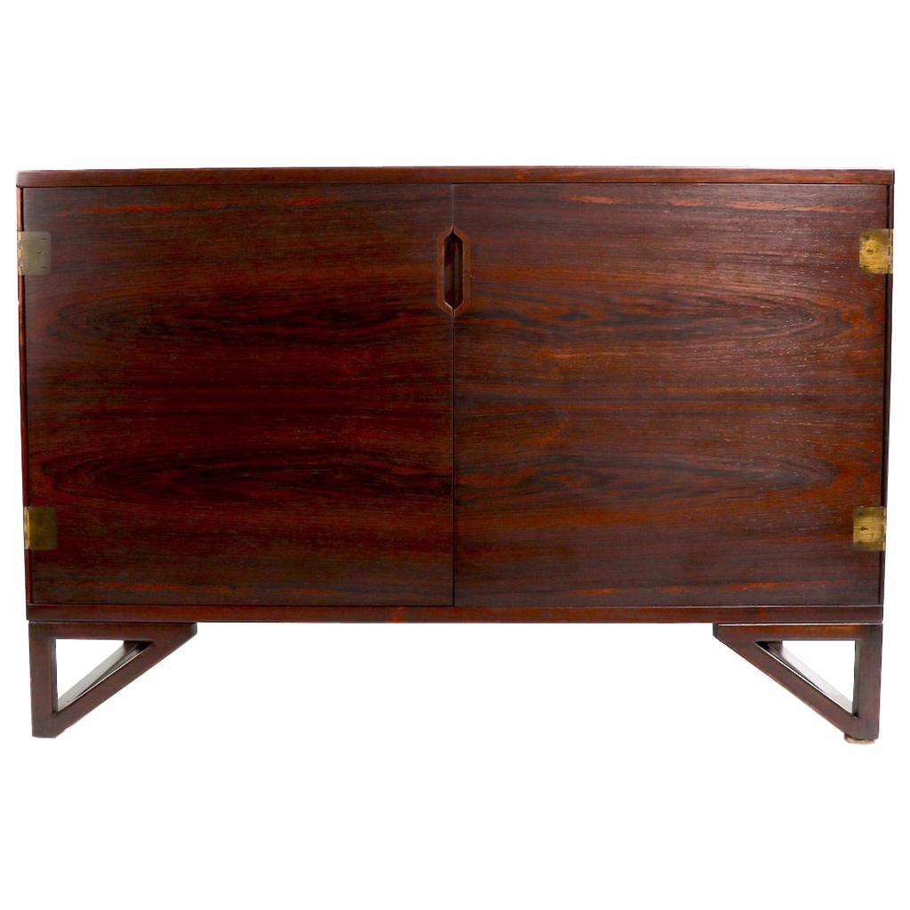 Rosewood Danish Cabinet Svend Langkilde by Lankilde Mobler for Illums Bolighus