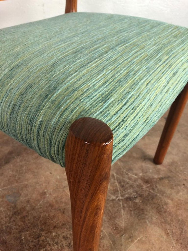 Rosewood Danish Dining Chair For Sale 1