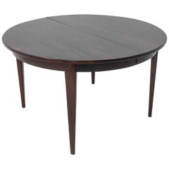 Rosewood Danish Dining Table by Omann Jun