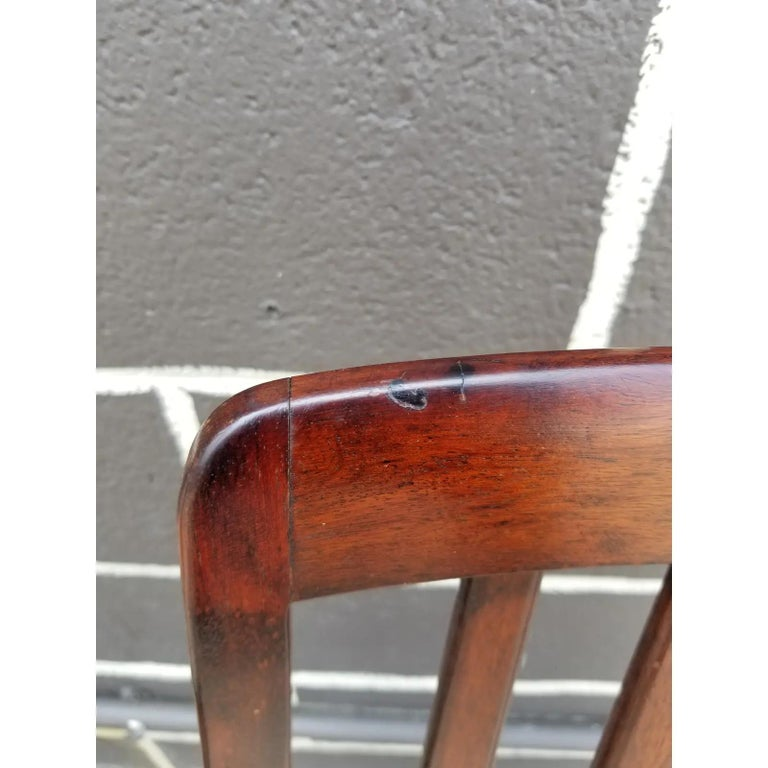 Rosewood Danish Modern Dining Chairs by Svegards, a Pair For Sale 3