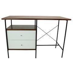 Rosewood Desk by Geraldo de Barros for Unilabor, Brazil, 1956