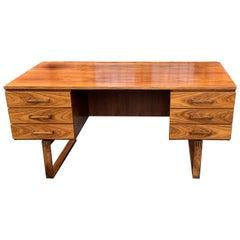 Rosewood Desk by Thorben Valeur and Henning Jensen